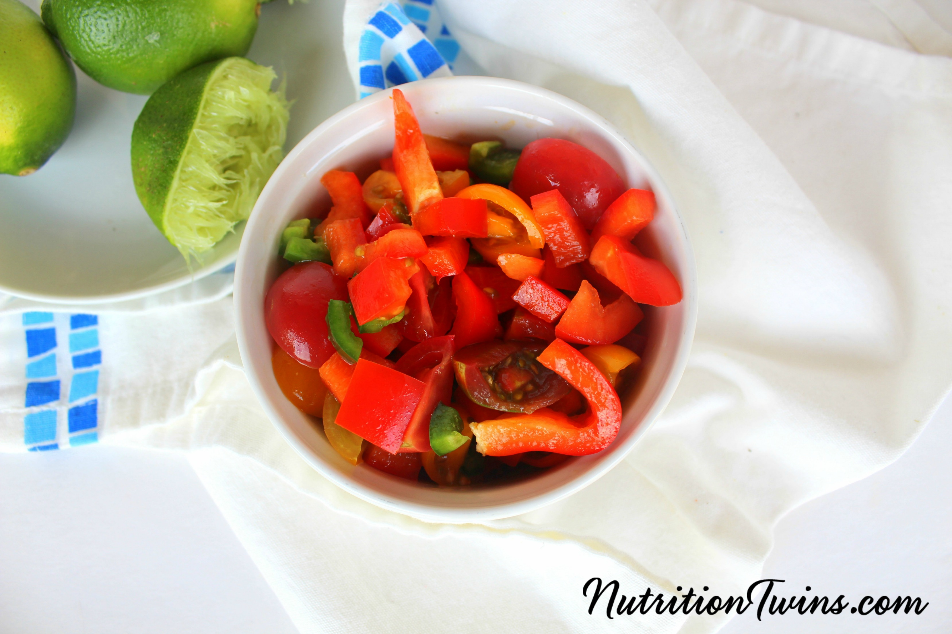 Fresh Tomato Salsa from The Nutrition Twins