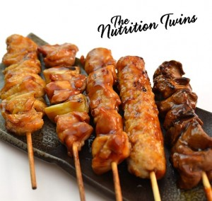 Baked Chicken Skewers Nutrition Twins