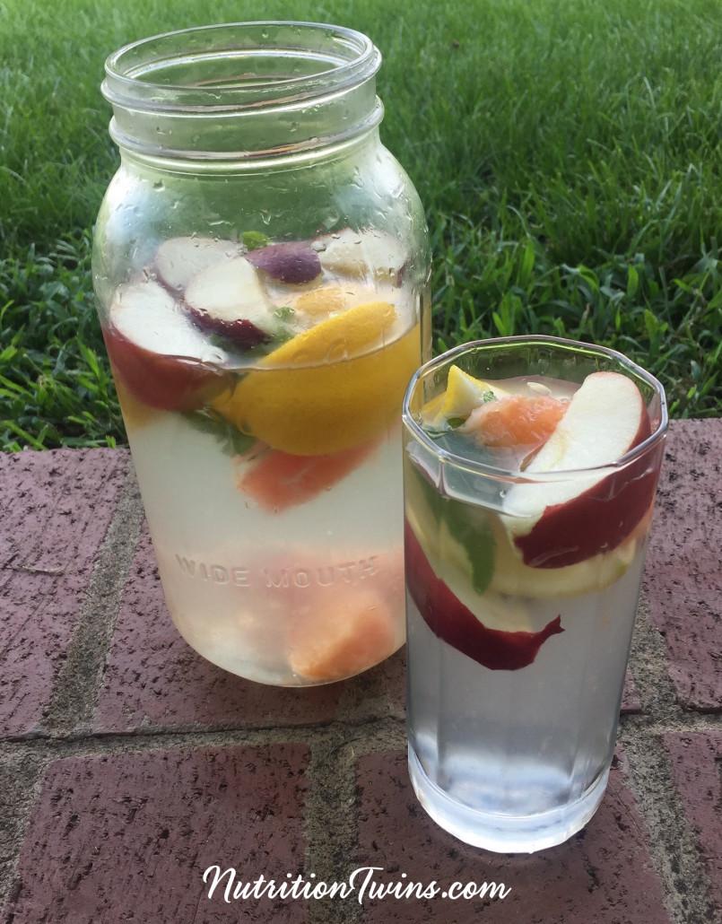 Apple Cider Vinegar Detox Drink - Nutrition Twins