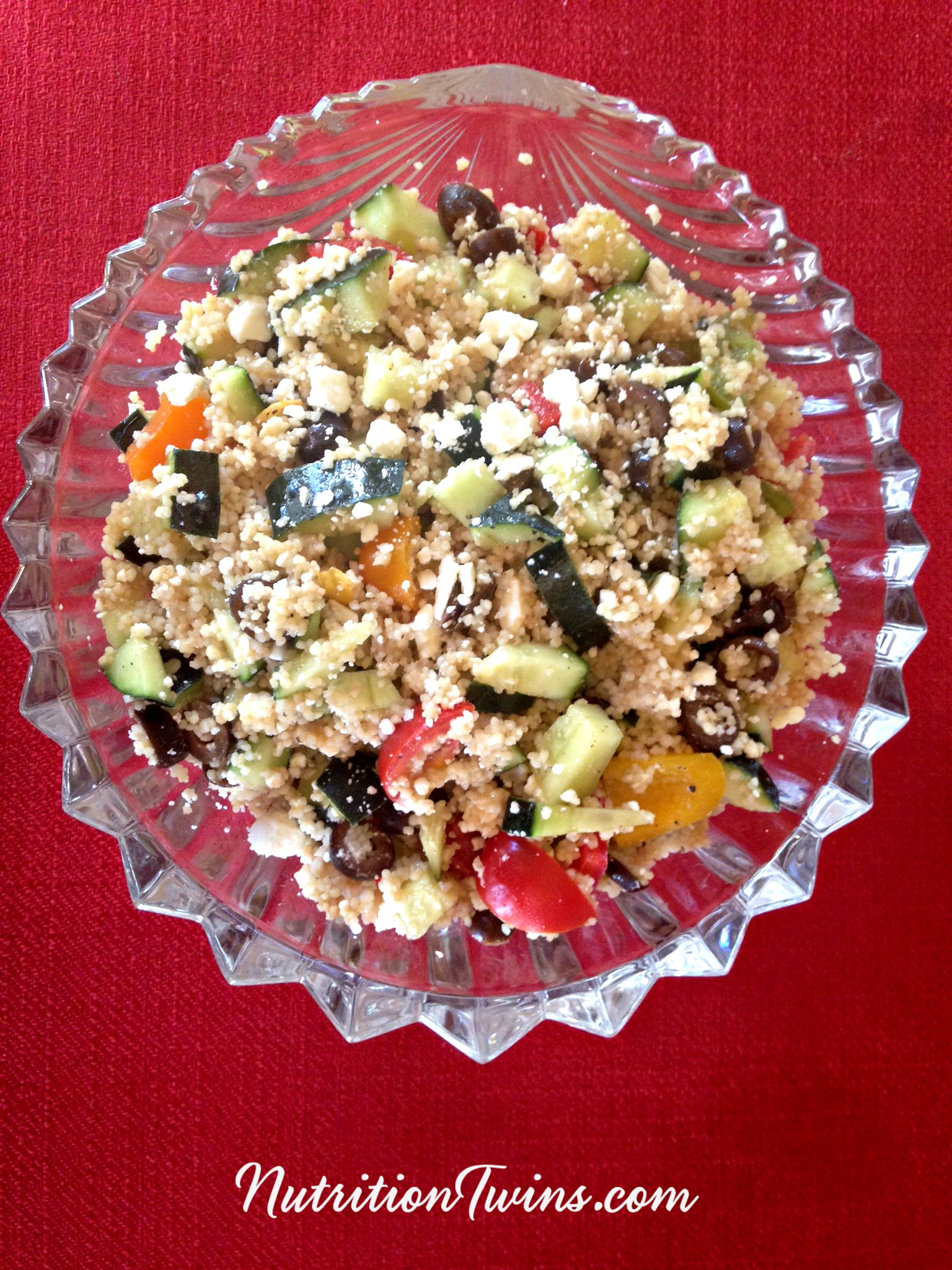 Greek Quinoa Salad Nutrition Twins