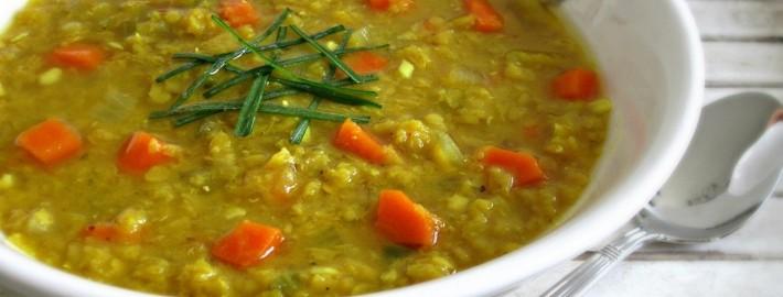 Lentil Vegetable Soup | Nutrition Twins
