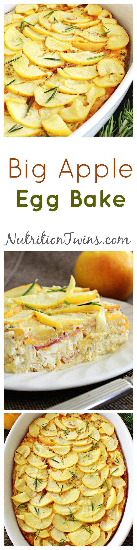 Big Apple Egg Bake Collage