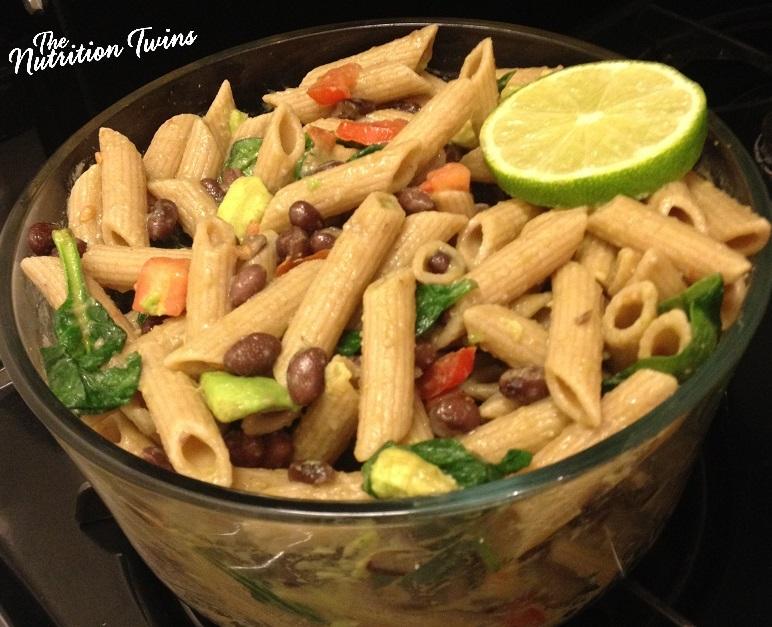 Black Bean & Avocado Pasta with Lime4