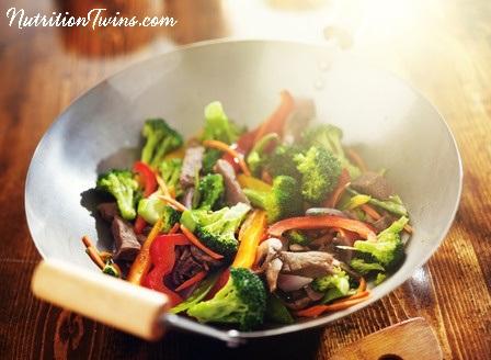 Broccoli Peanut Stir Fry