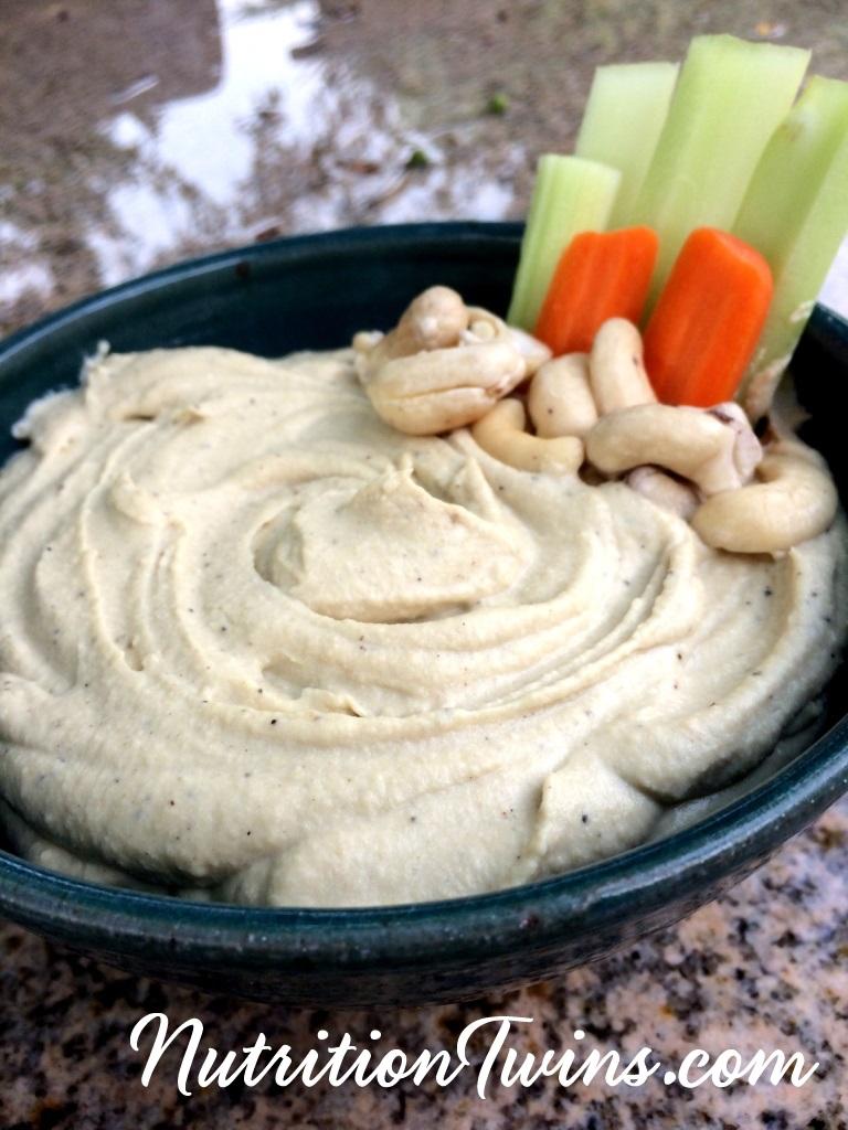 Cashew hummus pic