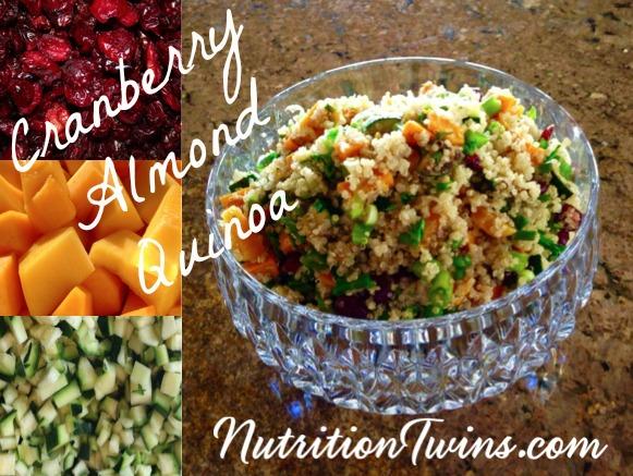 Cranberry Almond Quinoa