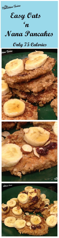 Easy_Oats_Nana_pancakes75 calories_vertical_collage