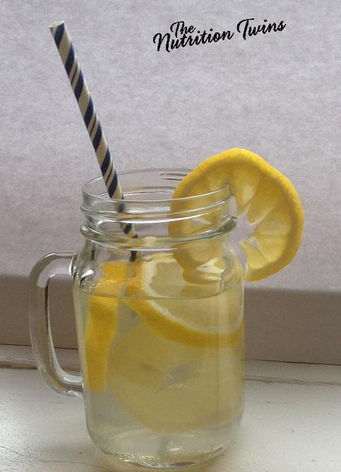 Ginger Lemon Detox Water