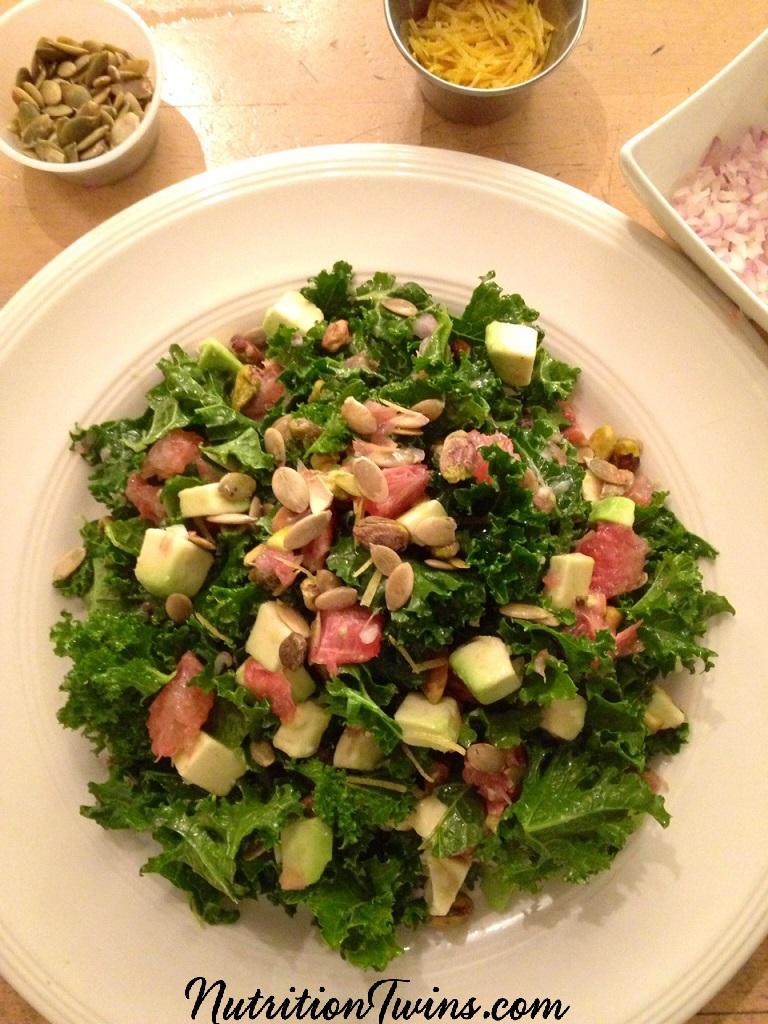 Grapefruit_Avocado_Kale_Pistachio_Logo_salad