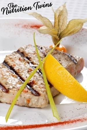 Grilled Spice Tuna Steaks