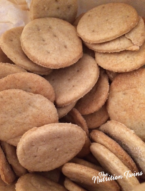 "Homemade Whole Wheat ""Ritz"" Crackers 1"