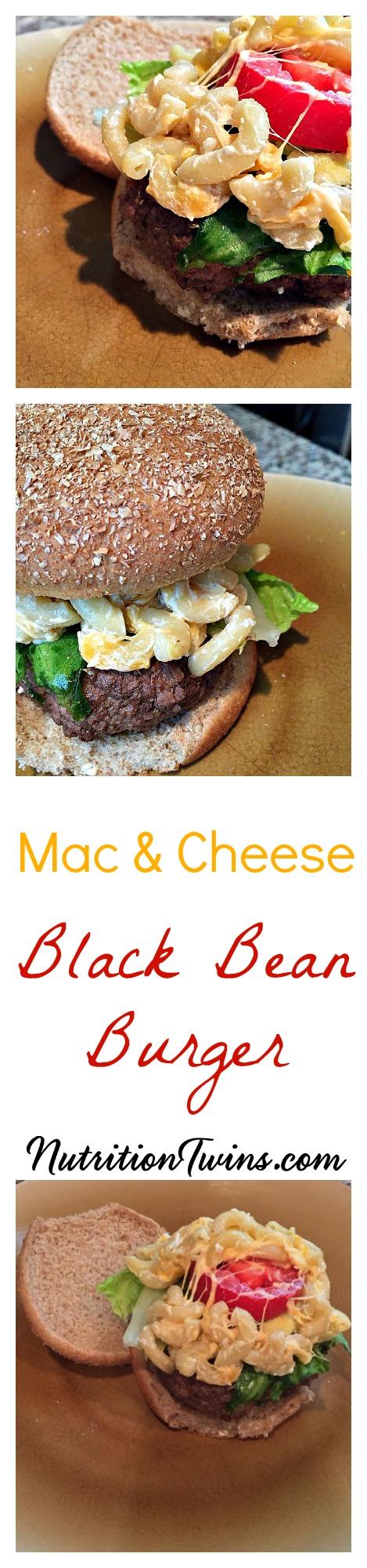 Mac_&Cheese_Black_bean_burger_pinterest