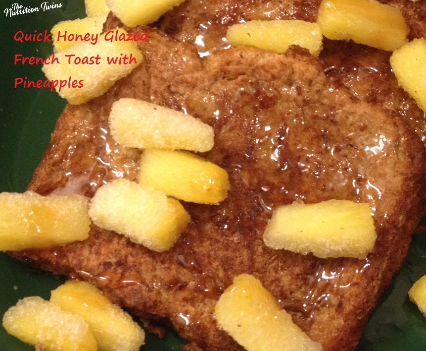 Quick Honey Glazed French Toast with Pineapples13