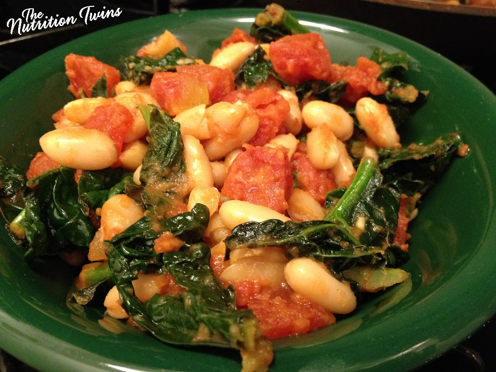 Quick_White_Bean_Stew_With_Kale&_Tomatoes