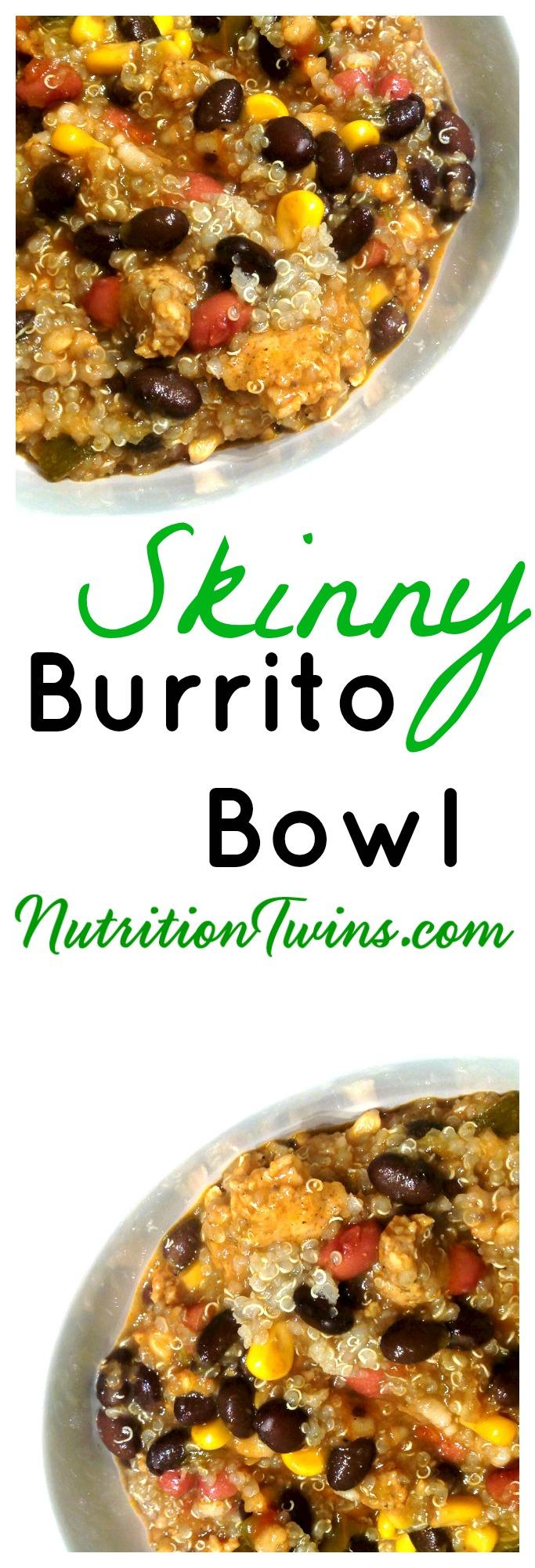 Skinny Burrito bowl pinterst
