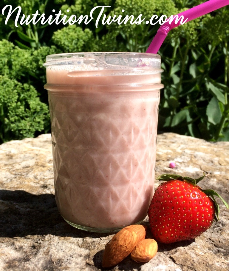 Strawberry Almond Milk pic