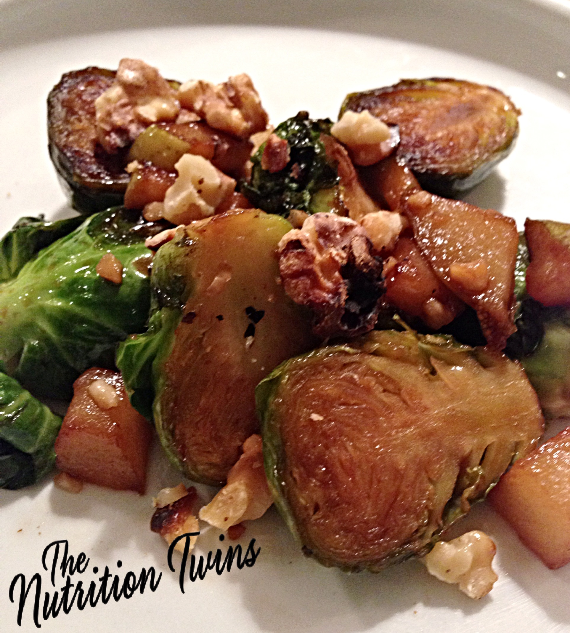 White Balasamic Brussel Sprouts
