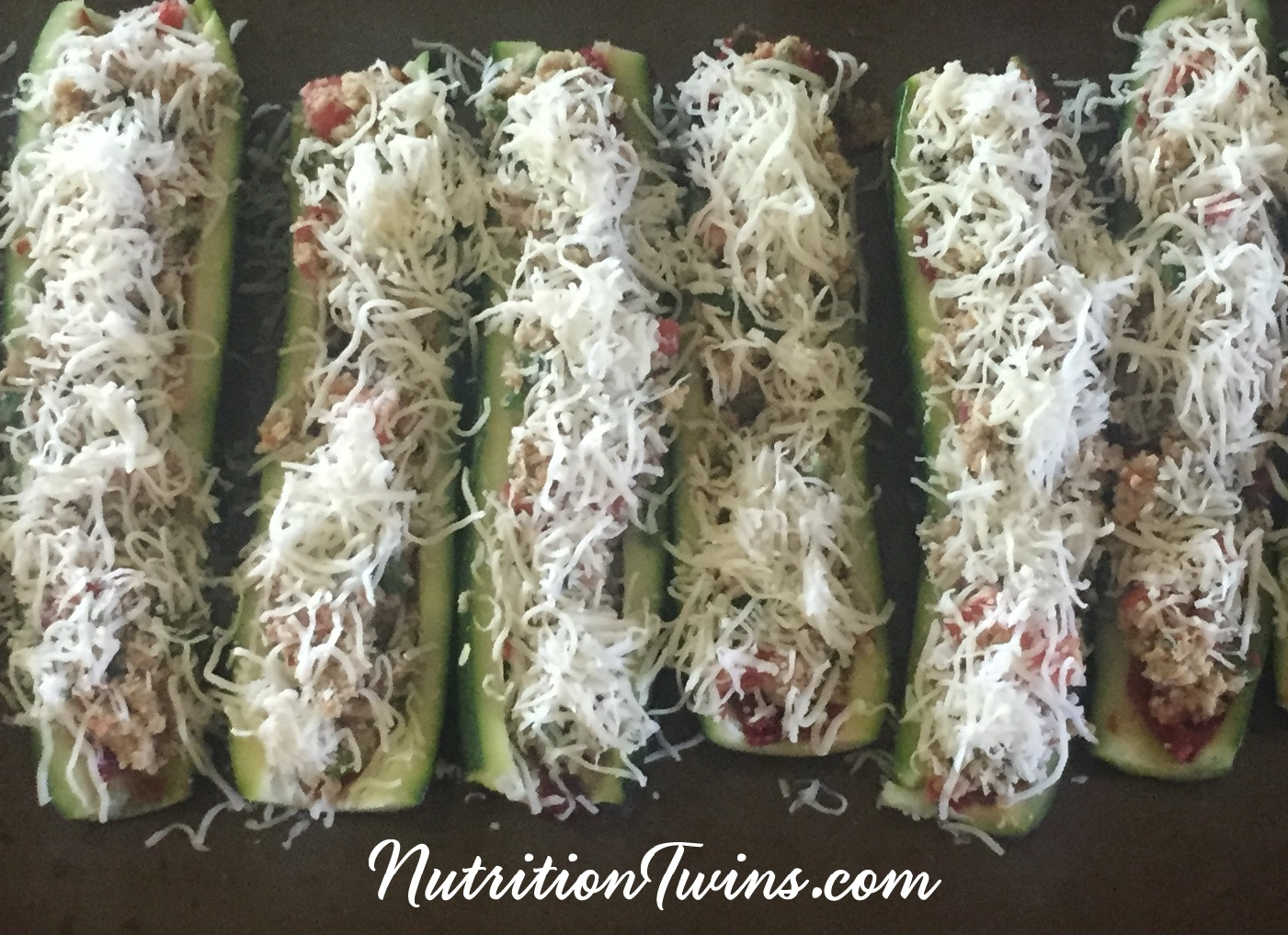 cropped zucchini