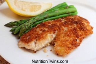 Baked Coconut Crusted Tilapia