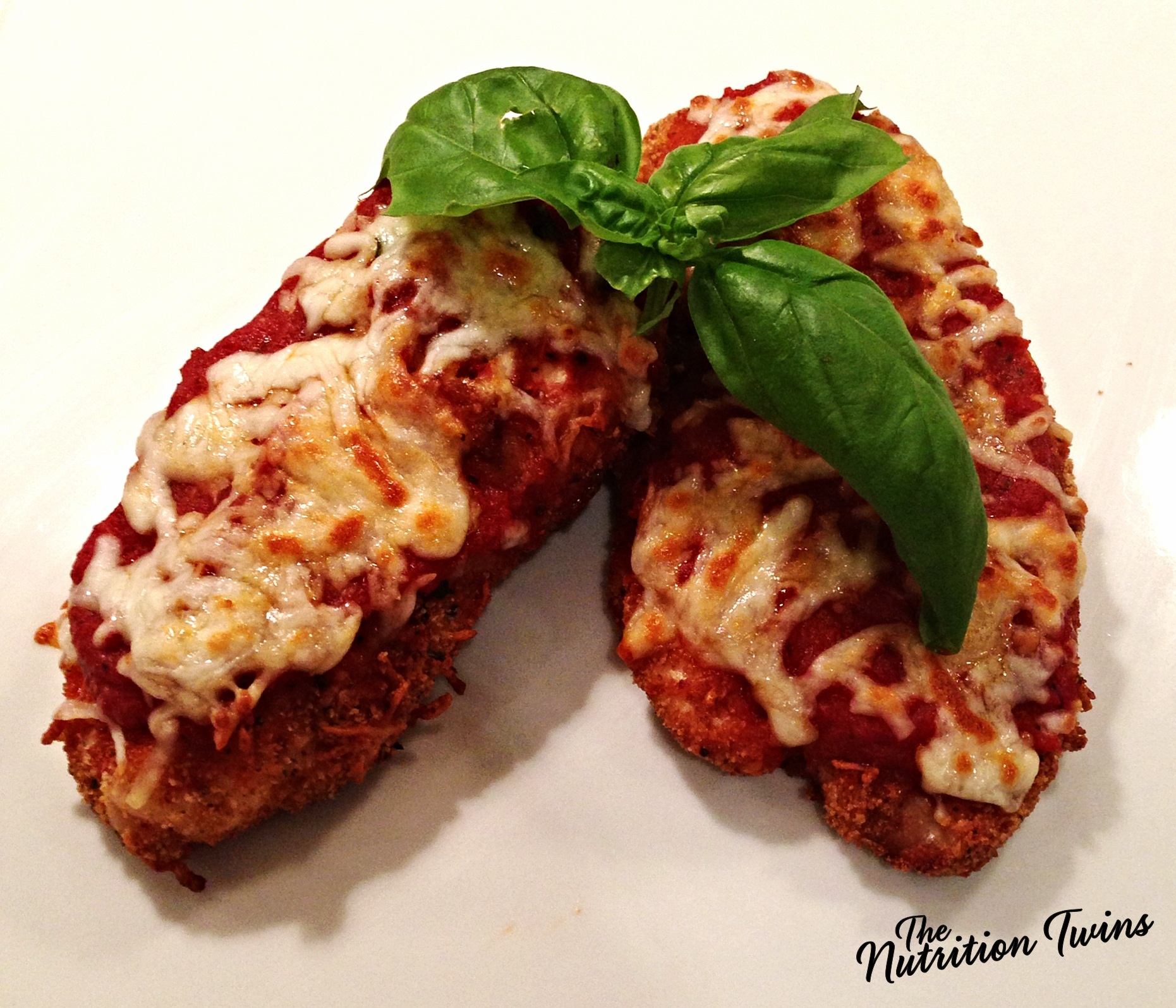 Crispy Chicken Parmesan Nutrition Twins