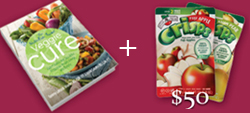 veggie cure and gift card