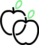 Nutrition Twins Logo - Icon Only Transparent
